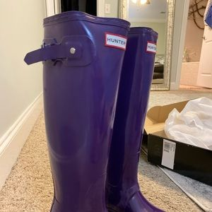 New with Box Hunter Boots Never Worn SZ 8